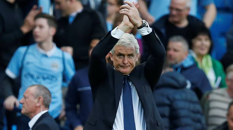 mark hughes, hughes, Premier League, stoke city, Arsene Wenger, Burnley, Sean Dyche, sports news, indian express