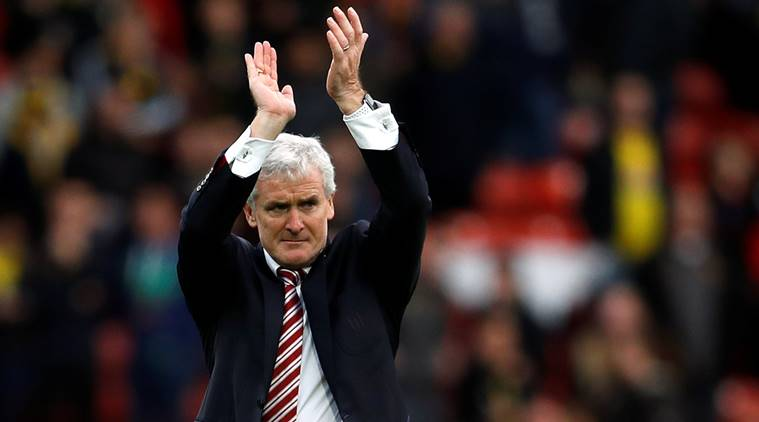 Mark Hughes, Stoke City, Watford, Premier League, sports news, football, Indian Express