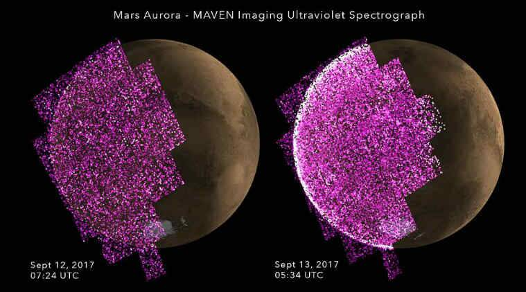 NASA, solar storm, Mars aurora, NASA MAVEN orbiter, solar wind, Mars global aurora, Radiation Assessment Detector, solar cycle, University of Colorado Boulder, Southwest Research Institute, Mars Curiosity rover, human-crew Mars missions, International Space Station