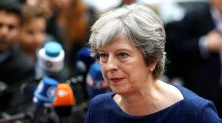 Plot to assassinate British PM Theresa May foiled, two arrested: report