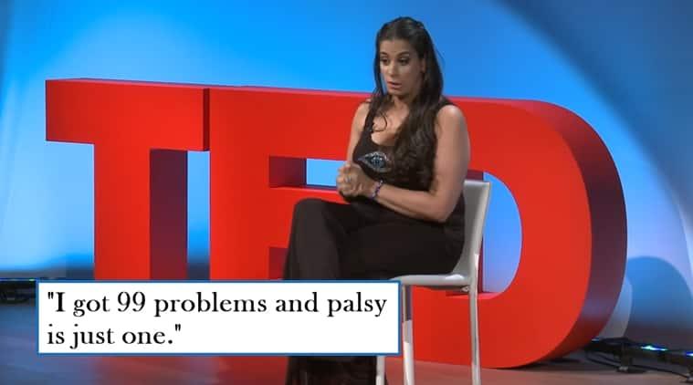 Maysoon Zayid, comedian Maysoon Zayid, Muslim comedian Maysoon Zayid, tedx talk of Maysoon Zayid, ted woman talk of Maysoon Zayid, tedwoman Maysoon Zayid