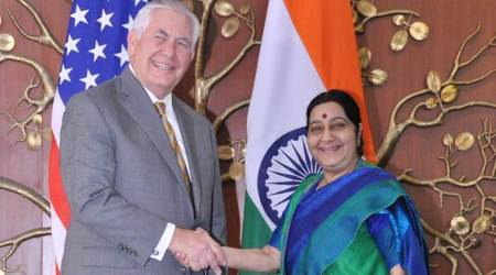 Rex Tillerson, Sushma swaraj, indo-US ties, pakistan, chabahar port, iran, world news, india news, indian express