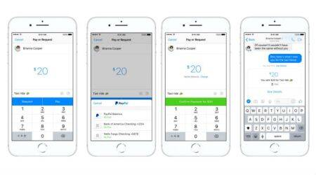 Facebook Messenger gets PayPal P2P payment integration in theUS