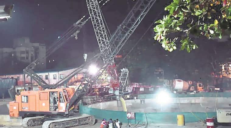 mumbai metro, mmrc, Mumbai Metro Rail Corporation, mumbai metro 3 project, mumbai metro blast work, rock blasting work, marol mumbai, mumbai news