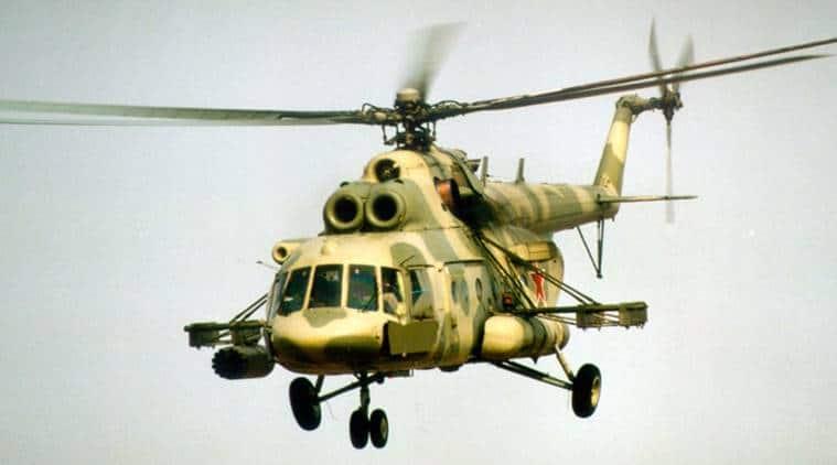 IAF chopper, iaf chopper crash, chopper crash in arunachal, indian express india news