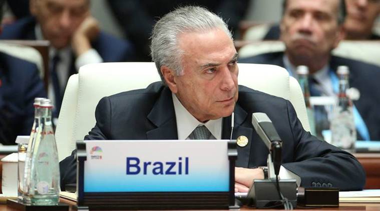 Brazilian President Michel Temer denies graft, defends legacy