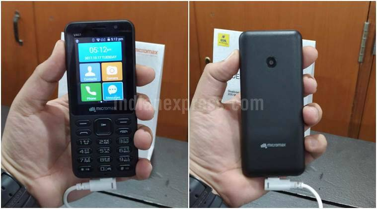 Micromax launches affordable 'Bharat-1' 4G phone