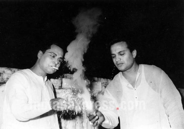 Mihir Bhattacharya, Uttam Kumar, bollywood diwali celebrations, diwali images, diwali photos