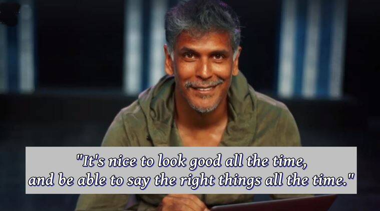 milind soman, milind soman video, milind soman model, milind soman modelling, milind soman busts myths about modelling, milind soman modelling myths, modelling, models, modelling good or bad, indian express, indian express news