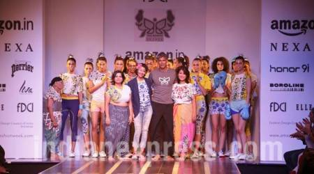 AIFW SS 2018: Milind Soman introduces India's first 'running sari' in hiscollection