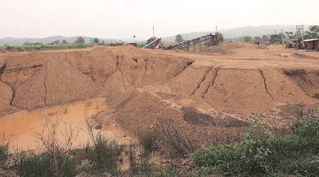 Illegal mining: Flying squad conducts first raid in Majri block, returnsempty-handed