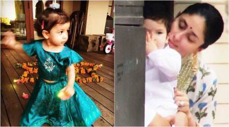 Photos: Taimur Ali Khan and Misha Kapoor made the most out of the festival of lights