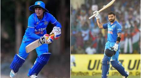 At the helm of things: Virat Kohli and Mithali Raj top ICC's batting charts