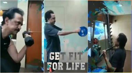 WATCH: DMK leader MK Stalin releases intense workout video