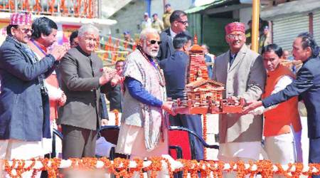 UPA didn't let me rebuild Kedarnath, Lord chose me: PM Modi