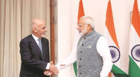India Afghanistan relations, India's aid to Afghanistan, Narendra Modi meeting with Ashraf Ghani, Ashraf Ghani, Ashraf Ghani visit to India, Modi Ghani meeting, Afghanistan security concerns, indian express news