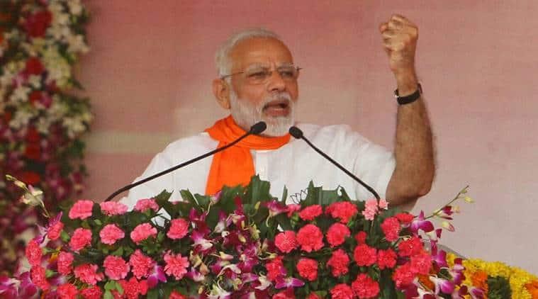 Narendra Modi, Modi in Gujarat, PM Narendra Modi in Gujarat live updates, Gujarat elections, Vadodara, Bhavnagar, ro-ro ferry service, Modi Gujarat live, indian express