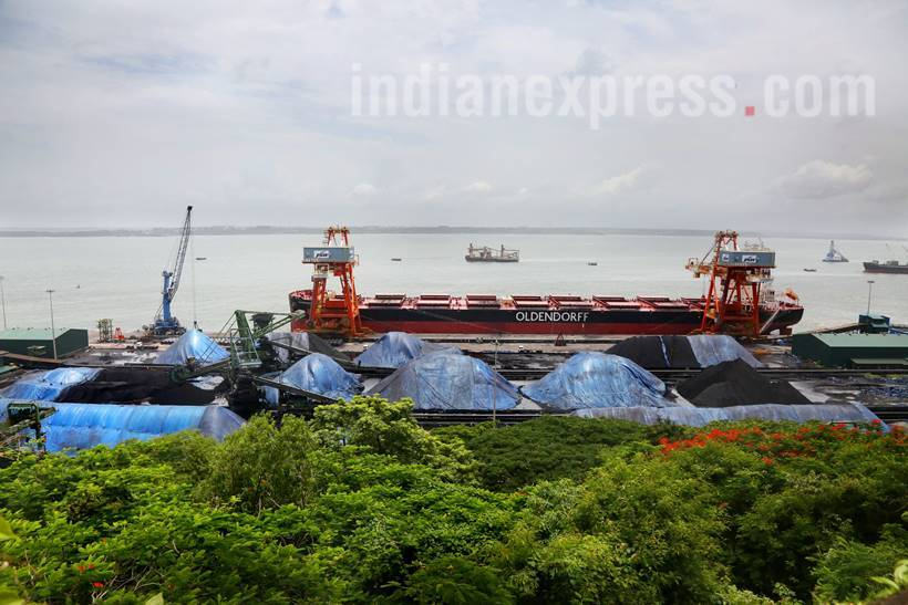 Goa, goa coal industry, goa coal, goa coal corridor, coal industry goa, indian express, indian news, latest news, indian express