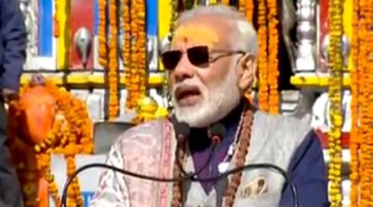 Narendra Modi, kedarnath temple, India, Modi in kedarnath, modi kedarnath live, live updates, Bhartiya Janata Party, PM Modi Uttarakhand, Kedarnath, Uttarakhand, Kedarnath temple, Narendra Modi kedarnath visit, Trivendra Rawat,