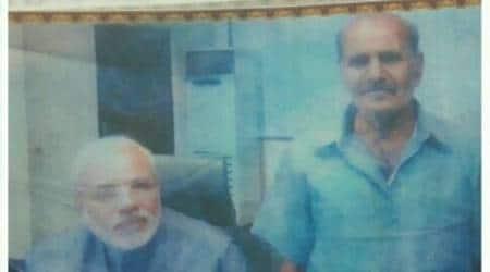 Prime Minister Narendra Modi's washerman from 1970s dies inGodhra
