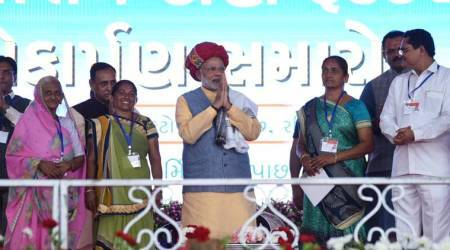 Narendra Modi in Gujarat LIVE updates: Ghogha-Dahej Ro-Ro ferry service biggest in South Asia, says PM