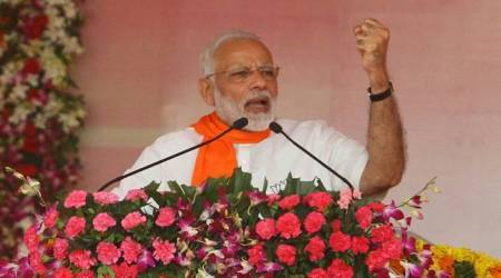 In poll-bound Gujarat, PM Modi tears into Congress, says 'development politics' will triumph over 'dynasty'