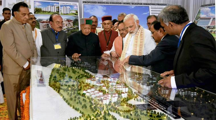 Narendra Modi, PM Modi, Himachal Pradesh elections, Congress, BJP, JP Nadda, Virbhadra Singh, india news, indian express