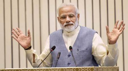 Critics are spreading despair but economy is on track, says PM Narendra Modi