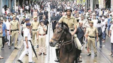 Muharram, Durga immersions in West Bengal peaceful, saypolice
