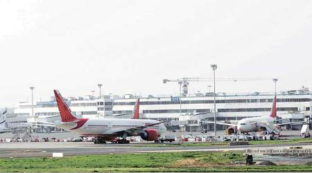 Pothole on taxiway delays flight operations at Mumbai airport