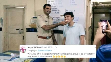 Man goes to file FIR; and Mumbai Police throws him a surprise birthday party