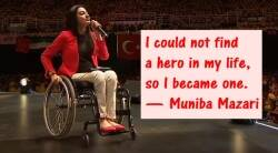 "Iron Lady of Pakistan, Pakistan speaker Muniba Mazari, Muniba Mazari, lazy in wheelchair, pakistan first female Goodwill Ambassador, Indian express, Indian express news, viral video, Forbes' ""30 under 30"