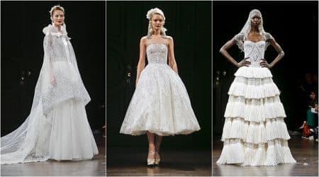 Naeem Khan, Naeem Khan latest designs, Naeem Khan bridal designs, Naeem Khan New York fashion, Naeem Khan veils fashion, Naeem Khan bridal veils, indian express, indian express news