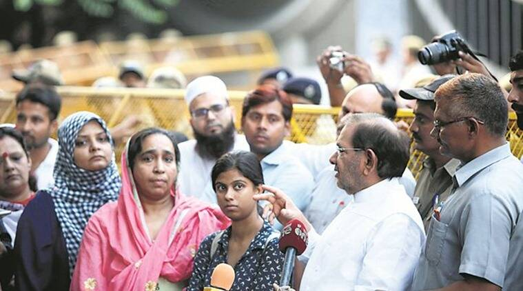 najeeb ahmad, najeeb ahmad missing, najeeb ahmad jnu, najeeb ahmad cbi, jnu, najeen's mother, sharad yadav, india news, indian express, indian express news