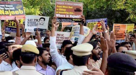 Najeeb ahmed, Najeeb ahmed missing, JNU missing student, Jawaharlal Nehru University, JNU, delhi news, india news, indian express news