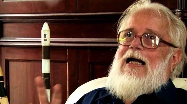 nambi narayanan,  former ISRO scientist, nambi narayanan auto biography, nambi narayanan spy case, orbit of memories book, nambi narayanan ISRO, indian express, india news, latest news