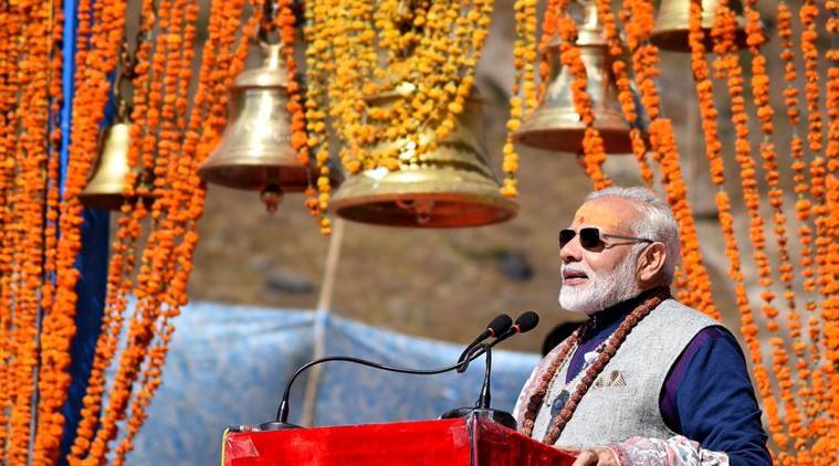 narendra modi, congress, kedarnath, uttarakhand, narendra modi kedarnath, narendra modi uttarakhand, india news, indian express news
