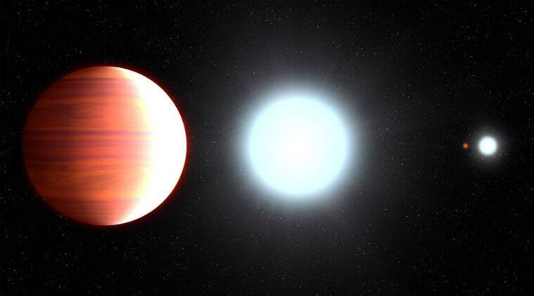 'Sunscreen' snowfall observed on fiery hot exoplanet
