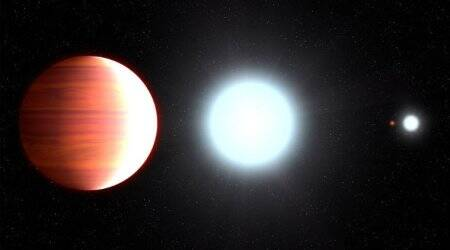 NASA's Hubble telescope finds hot exoplanet that 'snows' sunscreen