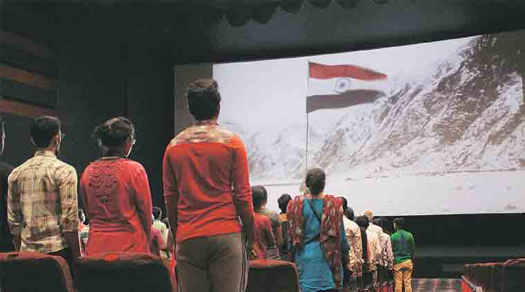 Standing for National Anthem in movie theatres not a measure of patriotism