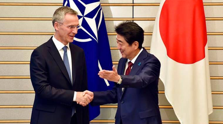 Image result for Will pressure nations to implement sanctions against North Korea: NATO chief,
