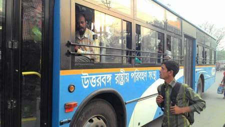 App to book bus tickets to NorthBengal