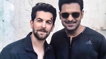 Neil Nitin Mukesh talks about working with Prabhas: We are preparing for the grand action sequences in Saaho