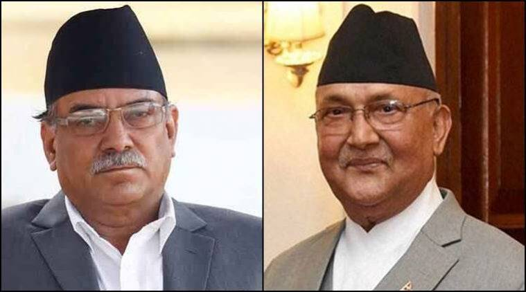 Nepal, Sher Bahadur Deuba, Nepali Congress, Nepal Communist Party, Nepal Maoist, nepal communist party alliance, kp oil, pushpa kamal dahal, nepal party alliance, nepal left, indian express, latest news, indian express