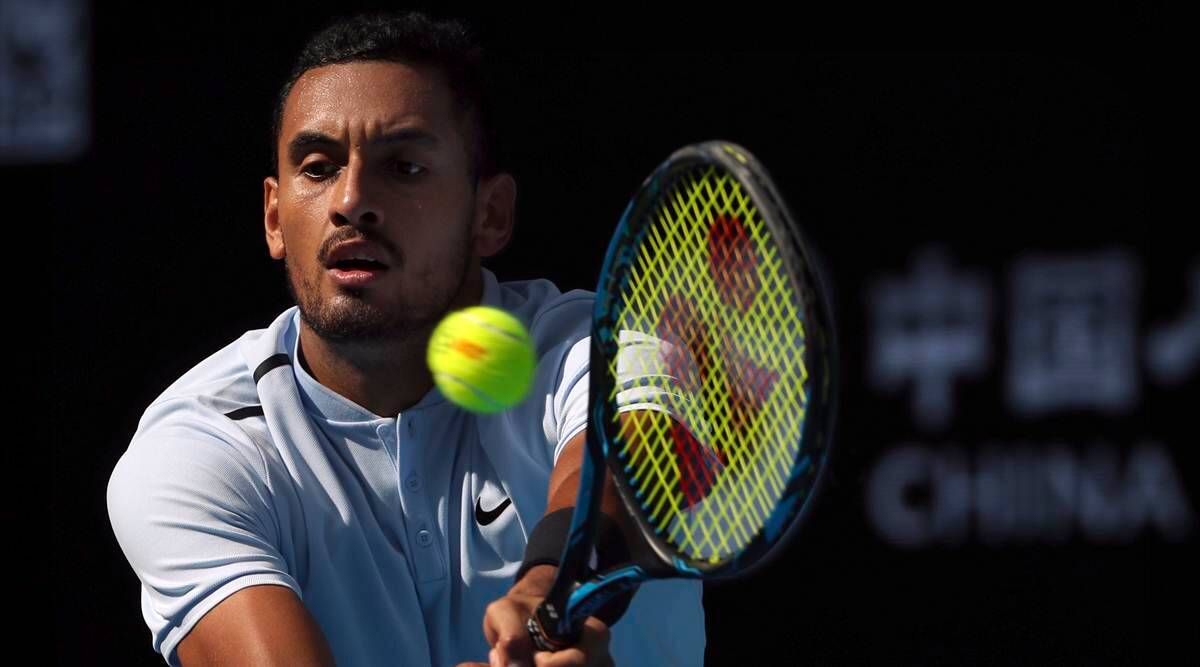 Nick Kyrgios, Mischa Zverev, China Open, China Open updates, China Open news, sports news, tennis, Indian Express
