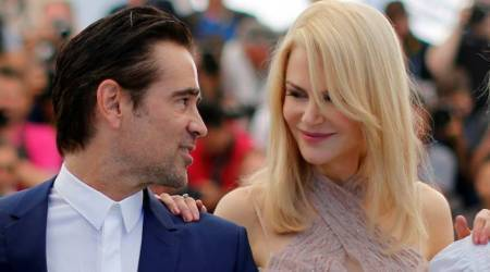 Nicole Kidman felt safe while shooting love scenes with Colin Farrell in The Killing of a SacredDeer
