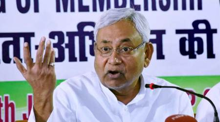 Bihar CM Nitish Kumar takes dig at Sharad Yadav slogan