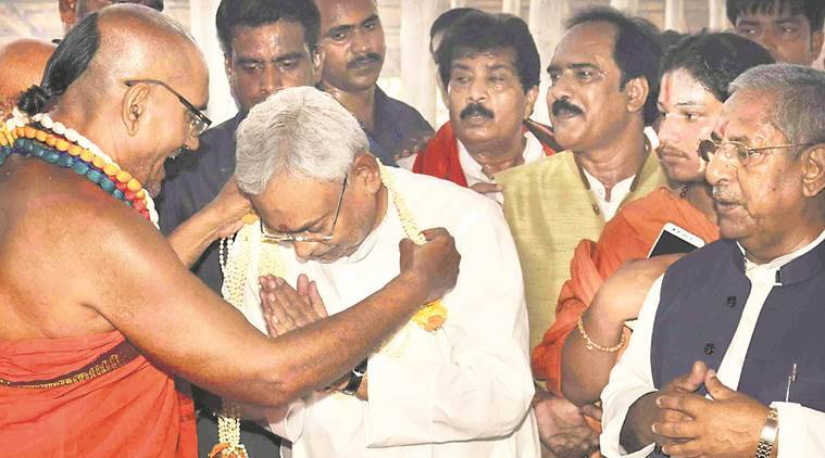 Nitish Kumar refuses to meet RSS chief during his Bihar visit