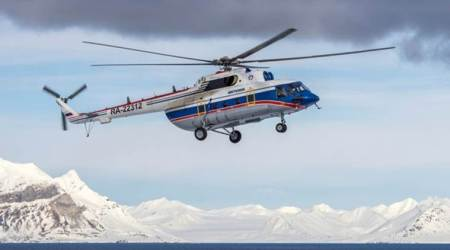 Missing Russian chopper found on Arctic seabed, 8 presumed dead