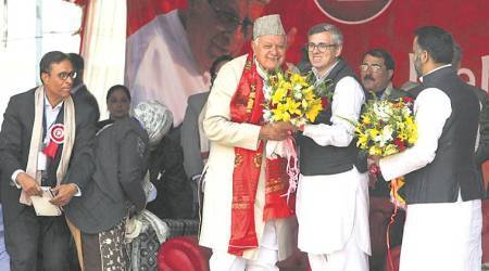 Omar Abdullah underlines: J-K acceded, not merged